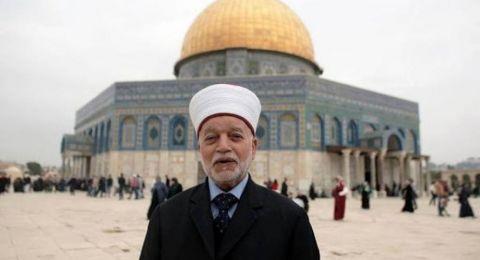 مفتي القدس يعلن استمرار إغلاق المساجد في رمضان