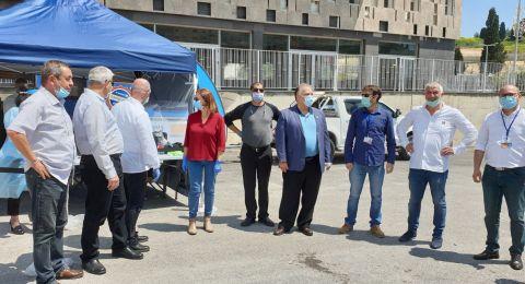 بلدية الناصرة: صندوق المرضى مئوحدت ومحطة فحص في الناصرة