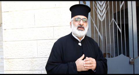الأب سابا حاج: نحتفل بالفصح هذا العام بدون تجمهرات أو لقاءات