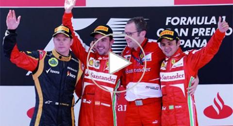 """صدق """"الحمار"""".. الونسو يفوز بسباق برشلونة"""