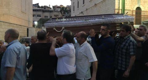 الناصرة: المئات يشيعون الراهب الفرنسيسكانى قدس الأب جاك كرم إلى مثواه الأخير