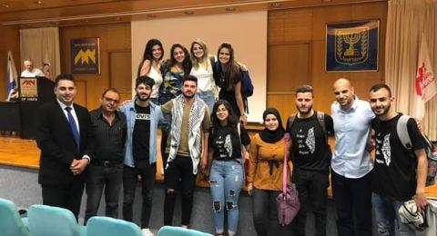 محاضرة للمحامي قيس ناصر في جامعة حيفا عن مخطط الطنطور