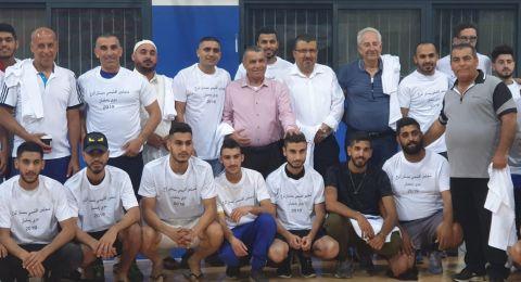 بستان المرج : أفتتاح دوري رمضان بحضور أدارة المجلس