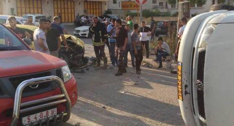 وفاة طفل أثناء قيادته لمركبة والده في طولكرم