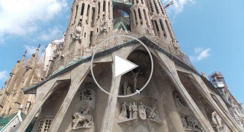 3 أنشطة في كنيسة ساغرادا فاميليا التاريخية في برشلونة