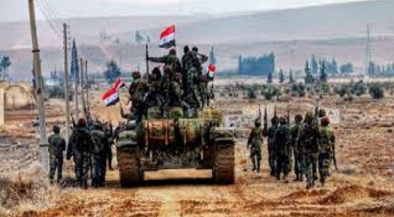 الجيش السوري يحاصر مسلحي