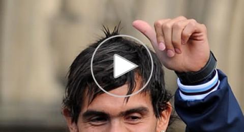 فيديو:-تيفيز يستعرض مهاراته في الشارع