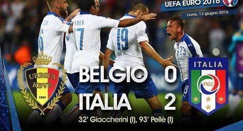 إيطاليا تعبر بلجيكا بفوز جميل في بطولة الأمم الأوروبية