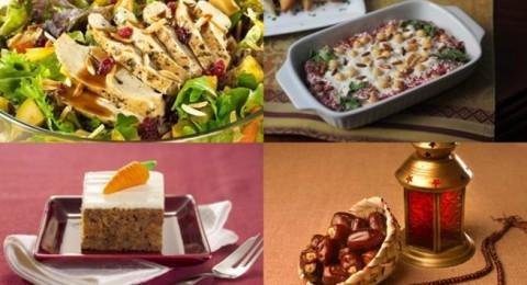 أطباق رمضانية: سلطة الدجاج، فتة الحمص وكعكة الجزر والتوابل