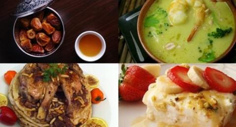 أطباق رمضان: شوربة القريدس، المسخن، وليالي لبنان