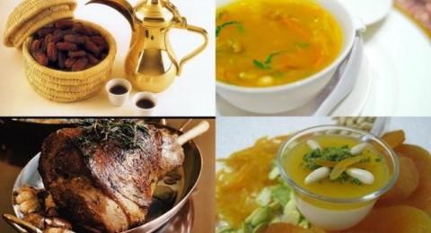 أطباق رمضانية: شوربة الشعيرية بالذرة، لحم الغنم بالفرن، ومهلبية بقمر الدين