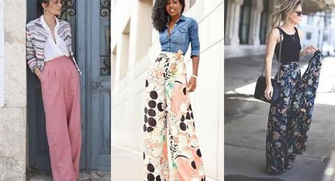 اختاري البناطيل الواسعة ذات القصة البسيطة لأزياء العمل في رمضان