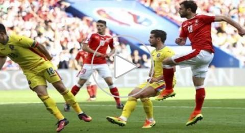 سويسرا تتعادل مع رومانيا وتقترب من التأهل في اليورو
