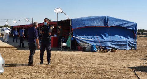 الشرطة في حملة توعية في النقب