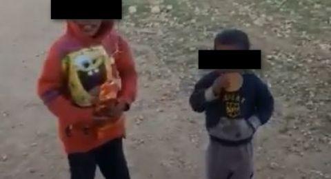 والد الطفلين من الفيديو العنصري يقدم شكوى في شرطة معاليه أدوميم