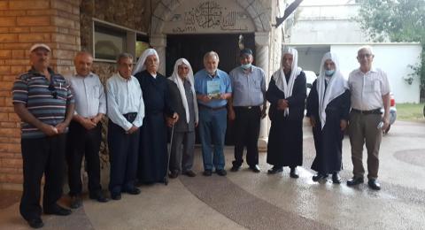 لجنة المبادرة العربية الدرزية تزور رئيس مجلس محلي مجد الكروم السابق أبو العز محمد مناع