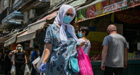 3,622 مصاب في المجتمع العربي و 559 إصابة جديدة منذ بداية الأسبوع
