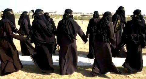 كيف تستغل نساء داعش