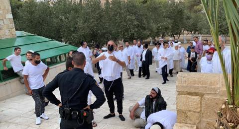 290 مستوطنا يقتحمون الأقصى في عيد الغفران اليهودي