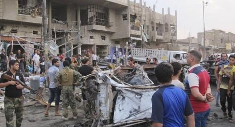 العراق : مقتل 23 شخصًا وإصابة العشرات بإنفجار في بغداد