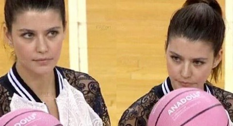 بيرين سات  تحارب سرطان الثدي بمباراة كرة سلة!