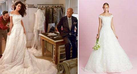 فستان زفاف أمل كلوني للبيع!