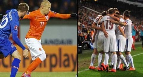 يورو 2016 :أيسلندا تصعق هولندا وتصعد للصدارة ولاتفيا تفرض التعادل على تركيا والتشيك تسحق كازاخستان