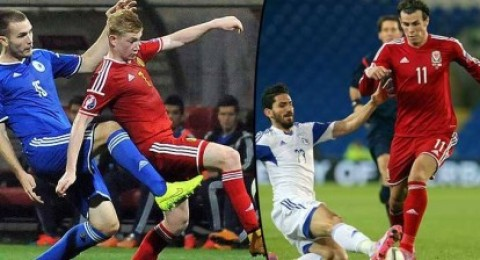 يورز 2016 : ويلز تحتفظ بصدارة مجموعتها وتعادل بين بلجيكا والبوسنة