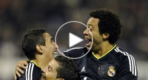 ريال مدريد يتفوق على سرقسطة بثلاثية مقابل هدف وحيد