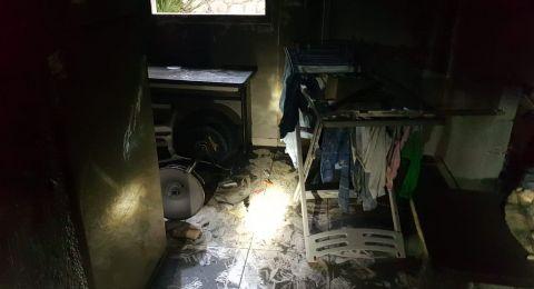 الناصرة: اخلاء فندق سانت جبرئيل بعد نشوب حريق فيه