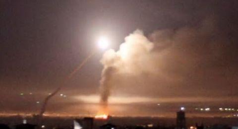 قصف إسرائيلي على عدد من المواقع في قطاع غزة