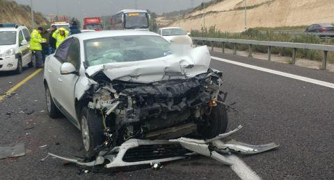 إصابة خطيرة بحادث طرق مروع قرب شفاعمرو