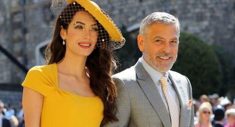 جورج كلوني وزوجته أمل علم الدين يتجهان الى التبني