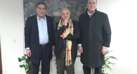 المحامي محمد شلبي رئيس مجلس إكسال المحلي يستضيف البروفيسور فرانشسكو باولو كولوتشي في مجلس إكسال