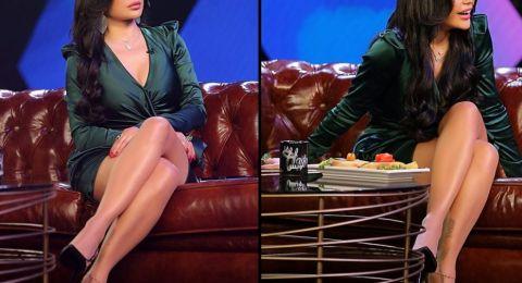 """شاهدوا فستان هيفا وهبي الذي ظهرت به في""""لهيفا وبس"""".. خمنوا كم بلغ سعره!"""
