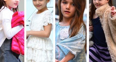 هل تذكرون سوري ابنة توم كروز في طفولتها؟