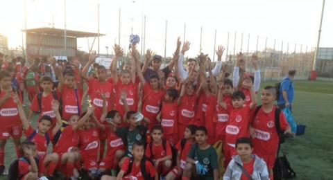 مباريات كرة قدم لطلاب المدارس في اللد برعاية السلطة الوطنية لمكافحة المخدرات والكحول