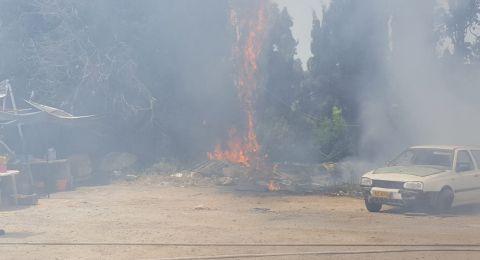 التحذيرات من الحرائق بسبب احوال الطقس الخمسينية