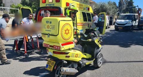 إصابات بينها خطيرة في عدة حوادث في البلاد