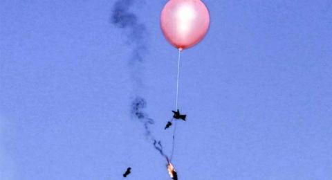 غزة: إطلاق البالونات سوف يستمر وبطرق مختلفة واتصالات مصرية للتهدئة