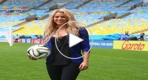 الحفل النهائي لمونديال 2014: استعدادات شاكيرا فى ملعب الماراكانا