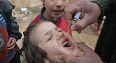 الأمم المتحدة تلقّح 355 ألف طفل ضد الشلل في سوريا