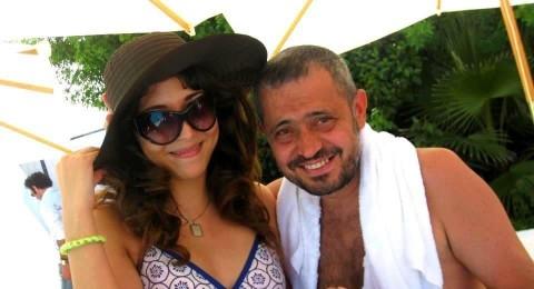 زوجة الوسوف ندى زيدان في أحدث صورة وهي حامل
