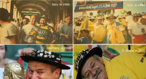 وفاة أشهر مشجع في تاريخ المنتخب البرازيلي