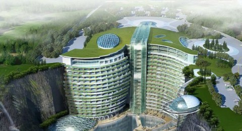 فندق انتركونتيننتال شيماو العجائب في شنغهاي