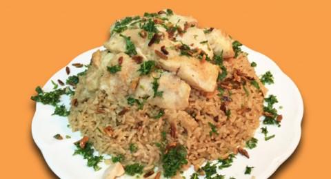 تعلموا الـ صيّاديّة (الأرز بالسمك المقلي)