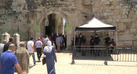 القدس : وفاة و326 اصابة جديدة بفيروس كورونا خلال يومين