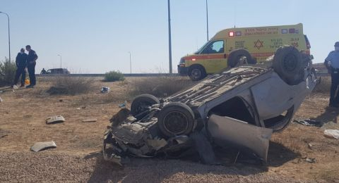 بهاء وريان الجرابعة من منطقة أم بطين هما ضحيتا حادث السير على شارع 6 بالقرب من مفرق اللقية