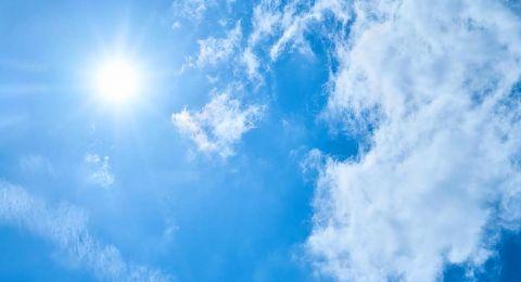 الطقس: أجواء حارة وأعلى من معدلها بـ 5 درجات