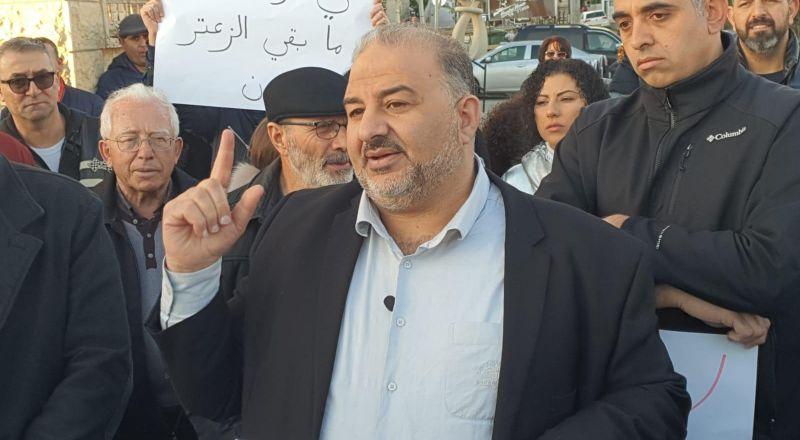النائب د. منصور عباس رئيس القائمة العربيّة الموحّدة: